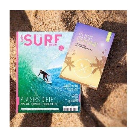 Surf Session 347 + Guide Cuisine