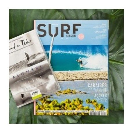 "Surf Session 345 + DVD ""Alombre"" et ""Behinde the tide"""