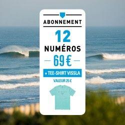 Abonnement 9 numéros Surf Session + 3 Thématiques + 1 bonnet Protest