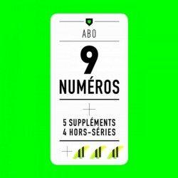 ABONNEMENT / Les 9 Magazines + 5 Suppléments + 4 HS + Dérives
