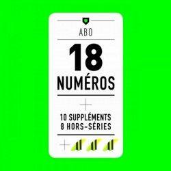 ABONNEMENT / Les 18 Magazines + 10 Suppléments + 8 HS + Dérives