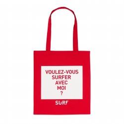 Tote Bag Voulez-vous surfer avec moi ?