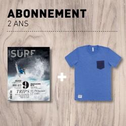 Abonnement Surf Session de 2 Ans - T-shirt Collector Offert