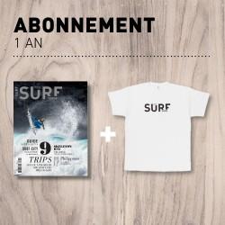Abonnement 1 An // T-shirt en cadeau //