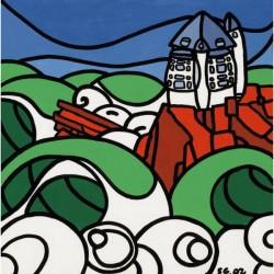 Poster Tempête sur Biarritz - S. Gubert