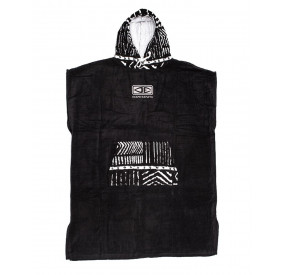DAYBREAK HOODED PONCHO DULL BLACK