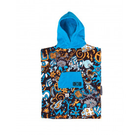 TODDLERS HIPPY SKULL PONCHO