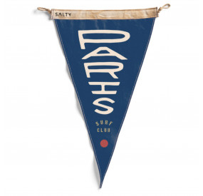 SALTY DESIGN PARIS SURF CLUB FLAG