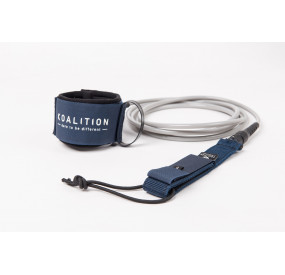 LEASH KOALITION BIG WAVE 9' X 9MM - NAVY BLUE SILVER