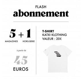 Abonnement T-Shirt Katxi Klothing X Surf Session (5 numéros / 1 Hors-Série)