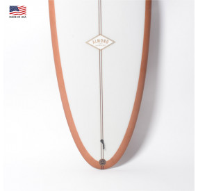 ALMOND PLEASANT PHEASANT 6'6 - CLEAR / TAN