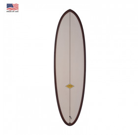 ALMOND PLEASANT PHEASANT 6'4 - PALE / BLACK