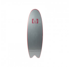SOFTBOARD VICTORY EPS MOUSSE FISH 5'6 - ROUGE