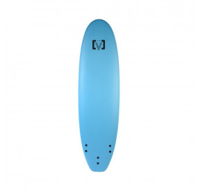 SOFTBOARD VICTORY EPS WIDE MOUSSE 8'0 BLEU CLAIR
