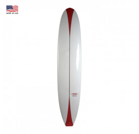 LONGBOARD GORDON & SMITH HOT CURL 9'6 - WHITE/RED