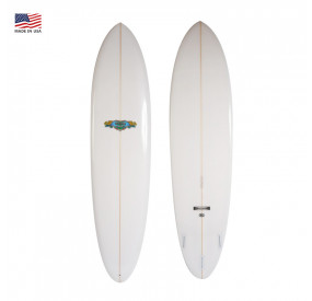 PLANCHE DE SURF GORDON & SMITH THE MAGIC 8'0 - CLEAR