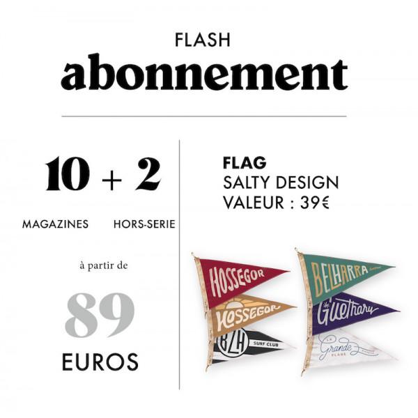 Abonnement Flag Salty Design 10 magazines + 2 hors-séries