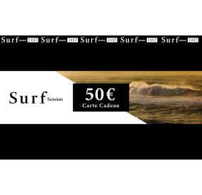 Carte cadeau 50€ - Surf Session