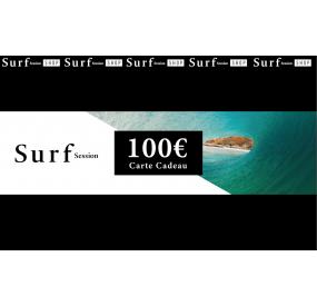 Carte cadeau 100€ - Surf Session