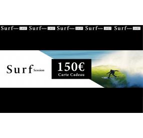 Carte cadeau 150€ - Surf Session