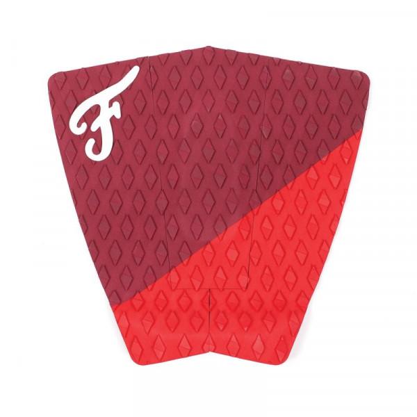 FAMOUS SURF PAD THE PORT DANE ZAUN MODEL RED / DARK RED