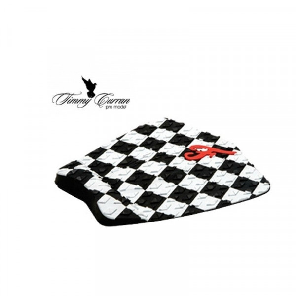 FAMOUS SURF PAD TIMMY CURRAN PRO MODEL BLACK / WHITE