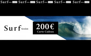 Carte cadeau 200€ - Surf Session